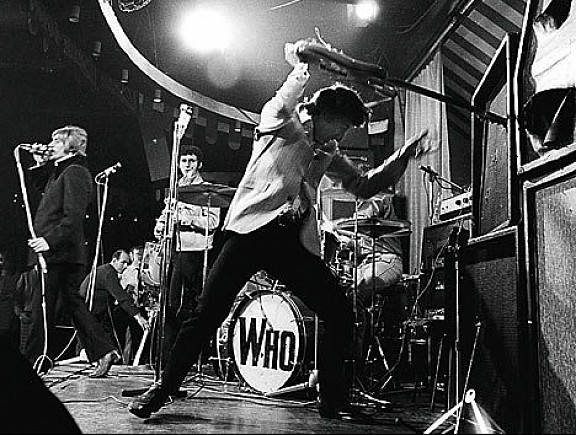 Pete Townsend van The WHO